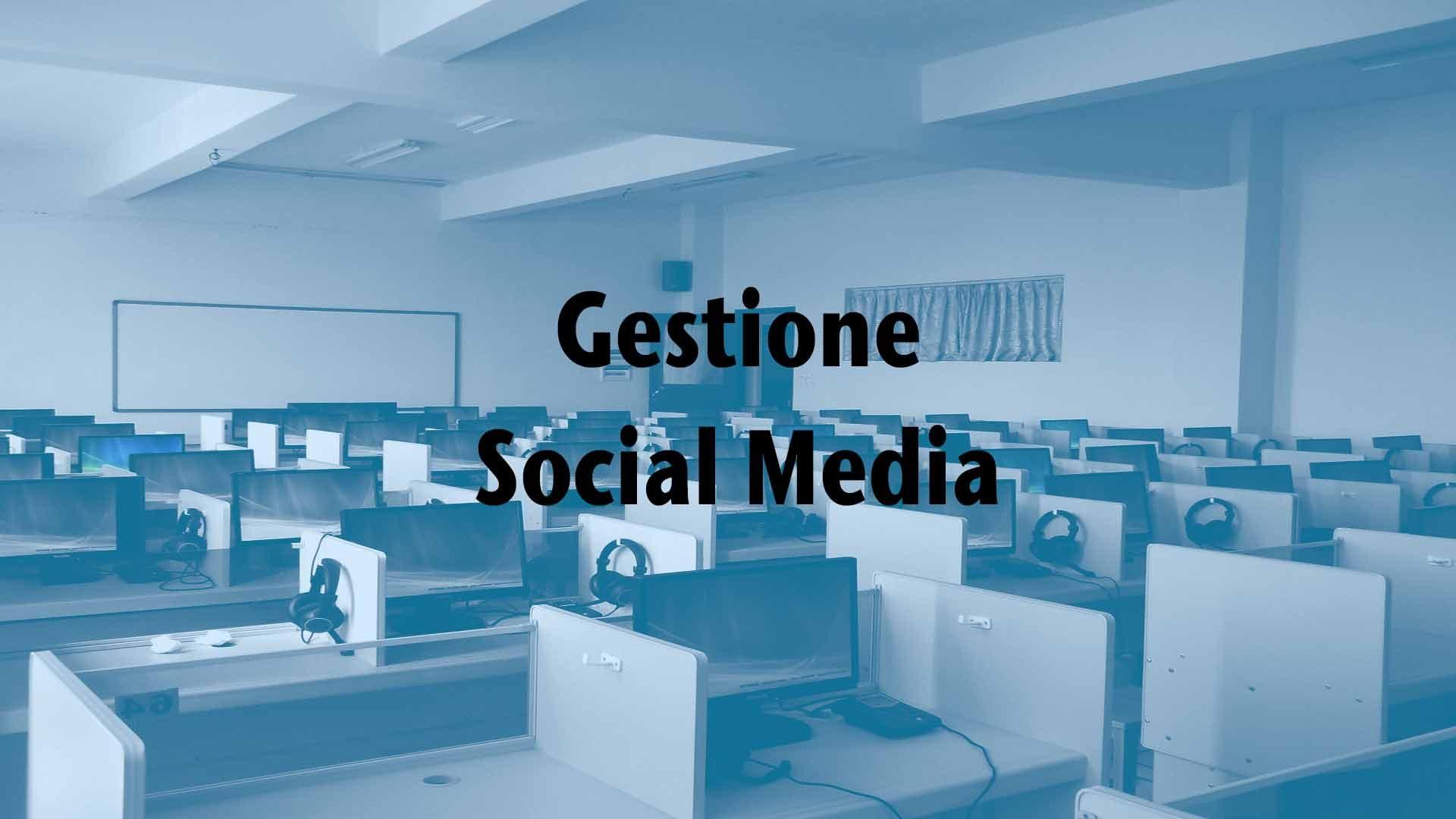 Gestione Social Media